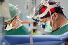 Легкое извлечено, очищено от опухоли и трансплантировано обратно